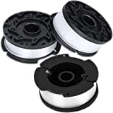 "xiscose Line String Trimmer Replacement Spool, [3 Pack] 30ft 0.065"" Replacement Autofeed Spool for Black&Decker String Trimmer"