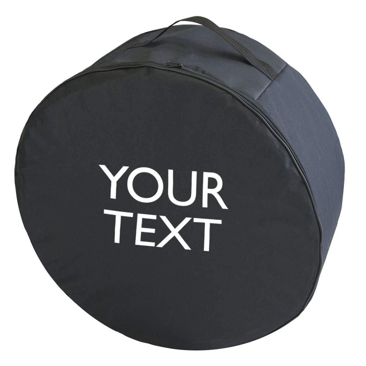 Ferocity Personalisierter Premium Qualit/ät Reifentasche mit Ihrem Wunsch-Text Set 17-22 XXXL Verschiedene gr/ö/ßen Reifenaufbewahrung Reifenchutzh/ülle Reifenbezug 4 St/ück 097
