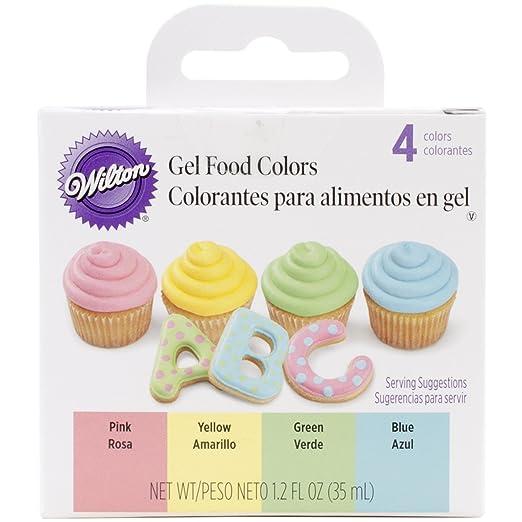 Wilton 601-1006 Gel Icing Color Set