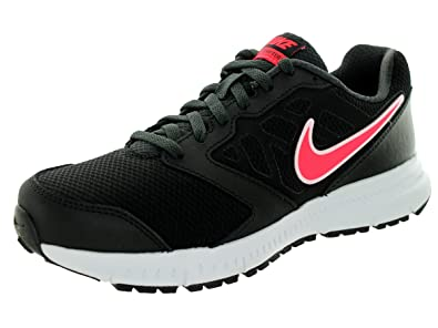 Nike Womens Downshifter 6 (Wide) Black/Hyper Punch/Anthracite Running Shoe  5.5