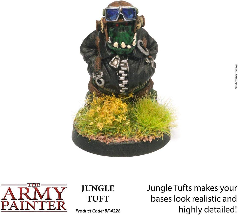 Jungle Tuft The Army Painter D/écors et Paysages 3 Tailles Diff/érentes Pour un R/ésultat R/éaliste
