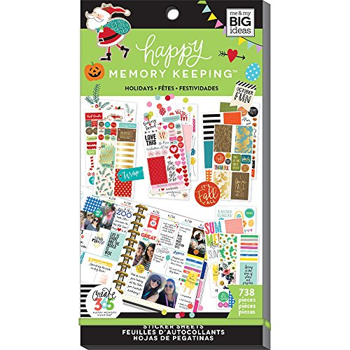 The Happy Planner - Value Pack Stickers - Seasonal by Me & My Big Ideas