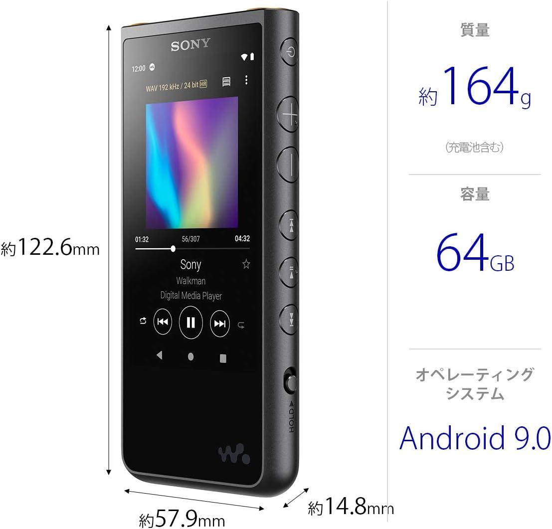 Amazon ソニー ウォークマン 64gb Zxシリーズ Nw Zx507 ハイレゾ対応 設計 Bluetooth Android搭載 Microsd対応 タッチパネル搭載 最大時間連続再生 ブラック Nw Zx507 B ソニー Sony デジタルオーディオプレーヤー