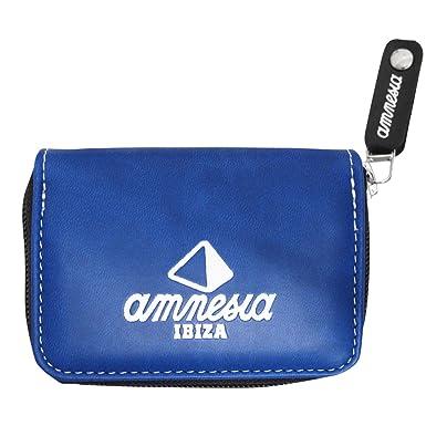 Amnesia Ibiza: Monedero Pirámide - Azul, Talla única: Amazon ...