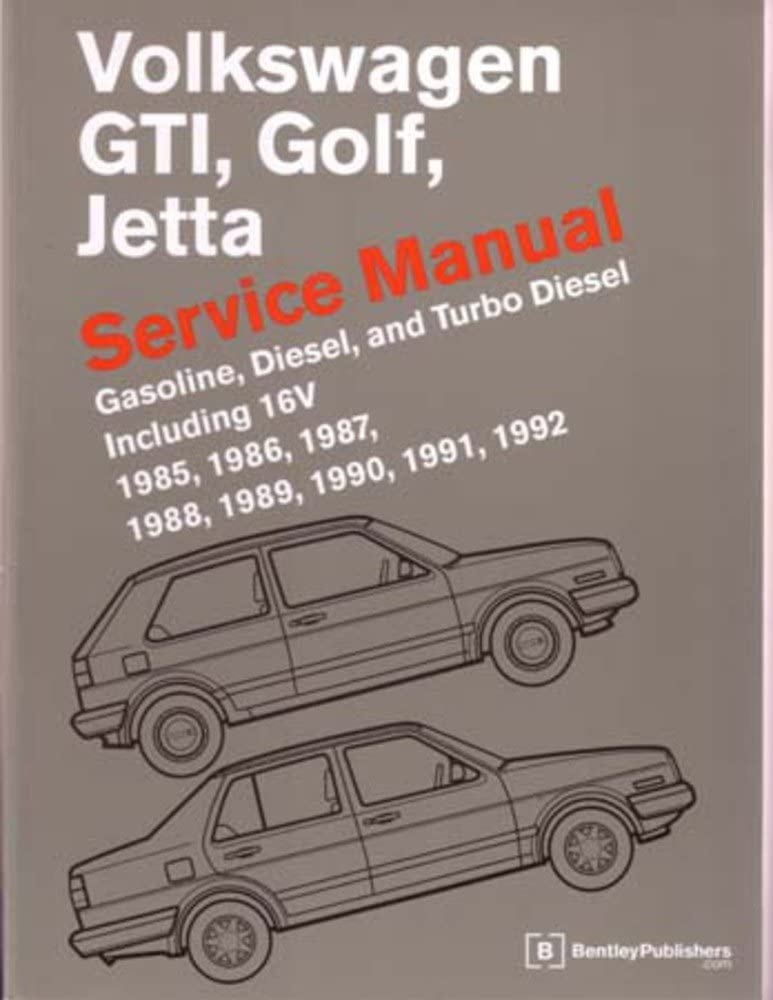 [SCHEMATICS_48ZD]  Amazon.com: bishko automotive literature 1985-1992 1990 1991 Vw GTI Golf  Jetta Shop Service Repair Manual Book Engine: Automotive   1988 Vw Golf Engine Diagram      Amazon.com