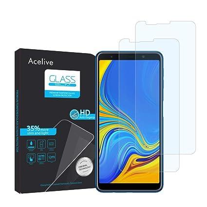 Fmway Vetro Temperato Samsung A7 2018, 2-Pezzi Pellicola Protettiva ...