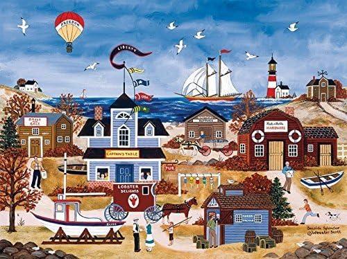 Haoguo Seaside Splendor Puzzle by Jane Wooster Scott 300 Pieces