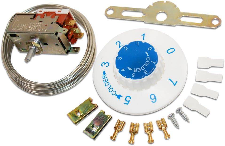 Termostato – Vt3 Universal para frigorífico congelador: Amazon.es ...