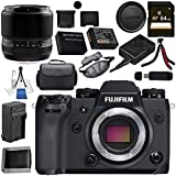 Fujifilm X-H1 Mirrorless Digital Camera (Body Only) 16568731 60mm f/2.4 XF Macro Lens 16240767 Bundle