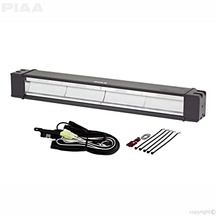 amazon com piaa 07218 rf18 led fog light bar kit with wiring 2005 mustang headlight harness piaa 07218 rf18 led fog light bar kit with wiring harness