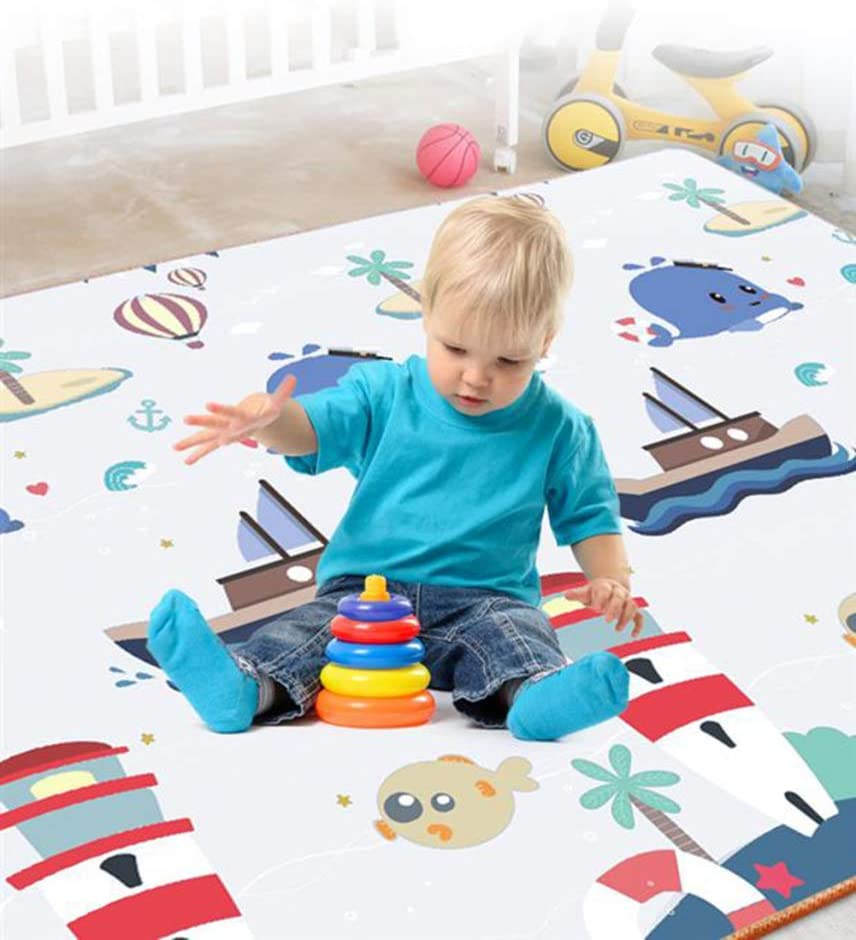 WSQ Manette de jeu tapis de sol en mousse tapis de gymnastique
