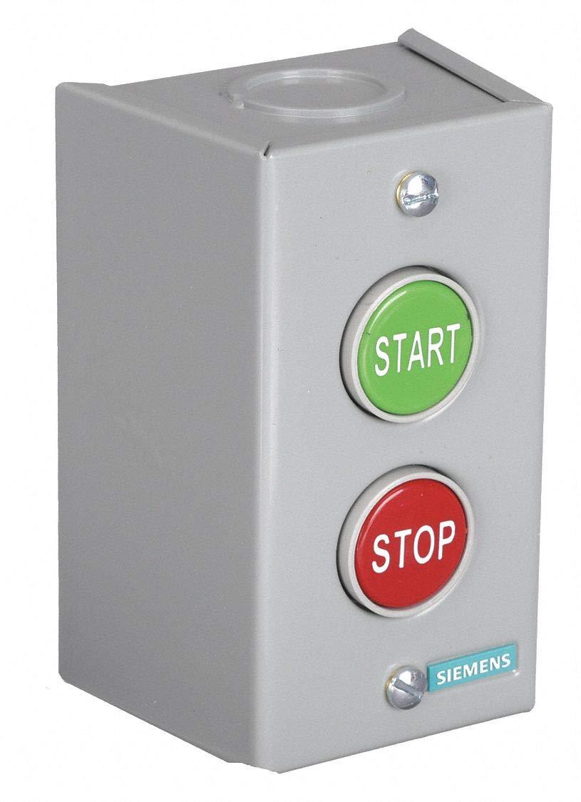 Push Buttn Cntrl Station, Start Stop, 38mm