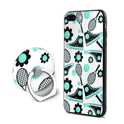 Amazon.com: Aqua Tennis Shoe iPhone 7 Plus Funda, iPhone 8 ...