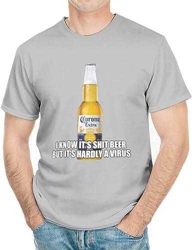 Amazon Com Coronavirus Parody Premium T Shirt Corona Flu Shirt Funny Beer Drinking T Shirt For Men Women White3 2x Large Grey Clothing