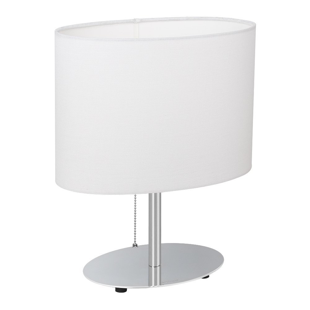 Haitral Bedside Table Lamp Minimalist Desk Lamp With Metal Base