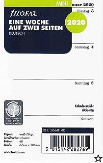lavendel Filofax 513015 Mini Linien Notizpapier