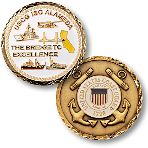 Integrated Support (Integrated Support Command, Alameda USCG Challenge Coin)