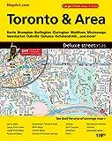 Toronto & Area Deluxe Street Atlas
