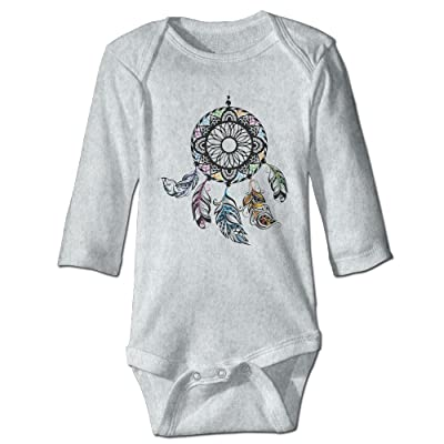 American Indians Dream Catcher Funny Baby Boy Girls Long Sleeve Babys' Crawling Jumpsuit Rompers