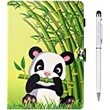 Case for Fire HD 10 Tablet (5th/7th Generation, 2015/2017 Release), Slim Lightweight Folio Stand Wallet Protective Smart Cover [Auto Wake/Sleep] for Amazon Fire HD 10.1 Inch Tablet, Panda