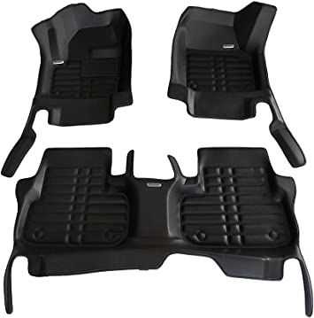 2 Clip RUBBER DRIVERS FLOOR CAR MAT TAILORED 13 on LANDROVER DISCOVERY 4