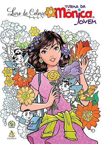 Turma da Mônica Jovem - Livro de Colorir: 1