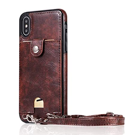 7d97e436c580 Amazon.com : UnnFiko Leather Wallet Case Compatible with iPhone 6 ...