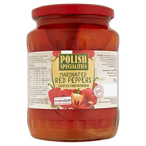 Polish Specialities Marinated Red Peppers, 720 g