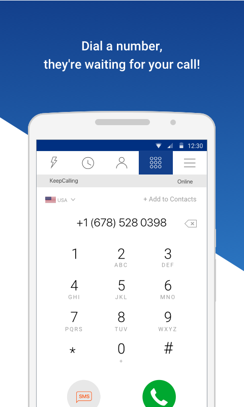 KeepCalling – Best International Calling App   Your Free App for
