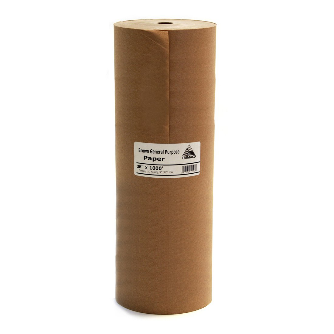 36-inch x 1000-feet Brown General Purpose Masking Paper by Trimaco