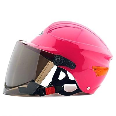 Moto Scooter casque de sécurité 302Rose
