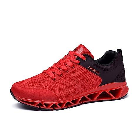 Shoe house Scarpe Running Uomo Maglia Traspirante Sneaker