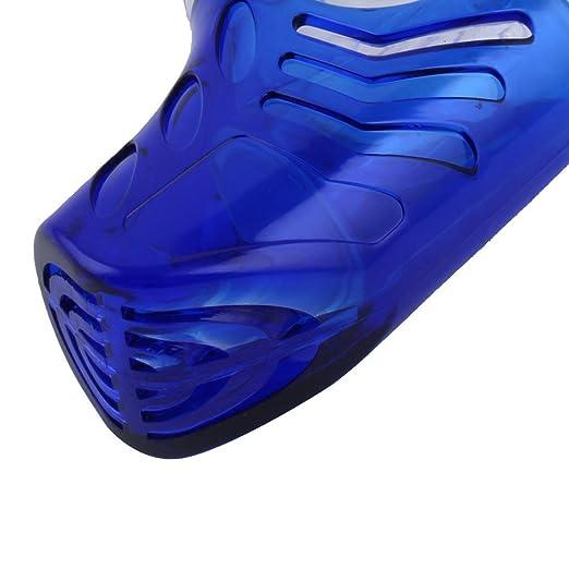 Amazon.com : eDealMax plástico Submarino Equipo de Natación de apnea Snorkel tubo de respiración de aire tubo respirador del Salto : Sports & Outdoors
