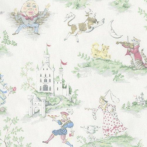 Carousel Designs Nursery Rhyme Toile Cradle Sheet