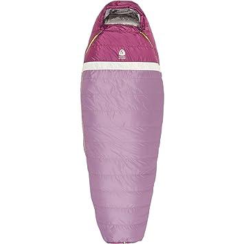 Sierra diseños Zissou 650 saco de dormir: 20 Degree Down - Chaqueta para mujer - Sierra Designs, Regular, Un solo color: Amazon.es: Deportes y aire libre