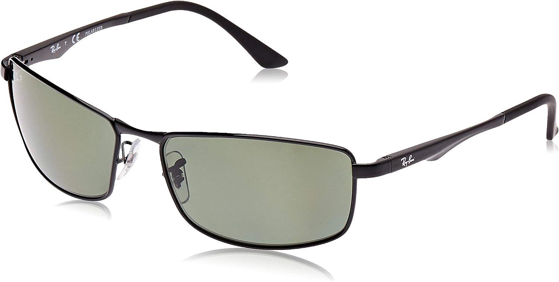 Ray-ban Mod. 3498 - Gafas de sol para hombre, Black, 61