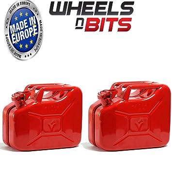 Wanderausrüstung 2 X 5 Liter Grün Jerry Militär Dosen Kraftstoff Öl Wasser Benzin Diesel
