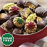 Sugar-Free Old-Fashioned Cookies Gift Tin from Wisconsin Cheeseman