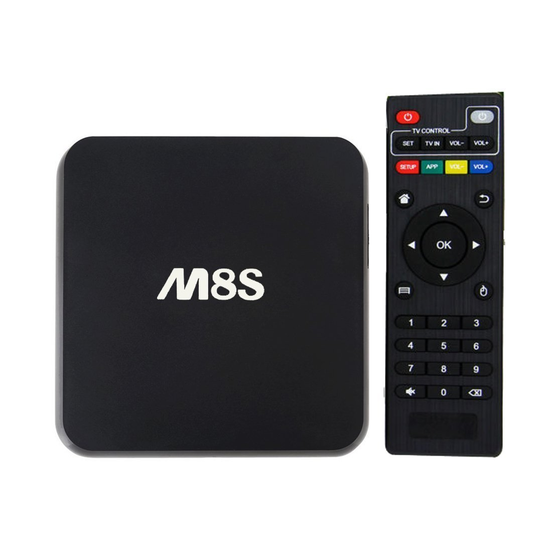 LONGYAO M8S Android Box Amlogic S812 Quad Core CPU 2GB RAM 8GB ROM Smart TV Box WiFi Bluetooth H.265 DLNA Full HD 4K HDMI Streaming Media Player LYCA-M8S-YZHM