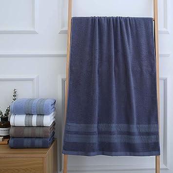 DUXX Toallas Toalla de baño Toallas de Mano Toallas toallitas algodón Hotel Calidad Super Soft,Blue,70 * 140cm: Amazon.es: Hogar