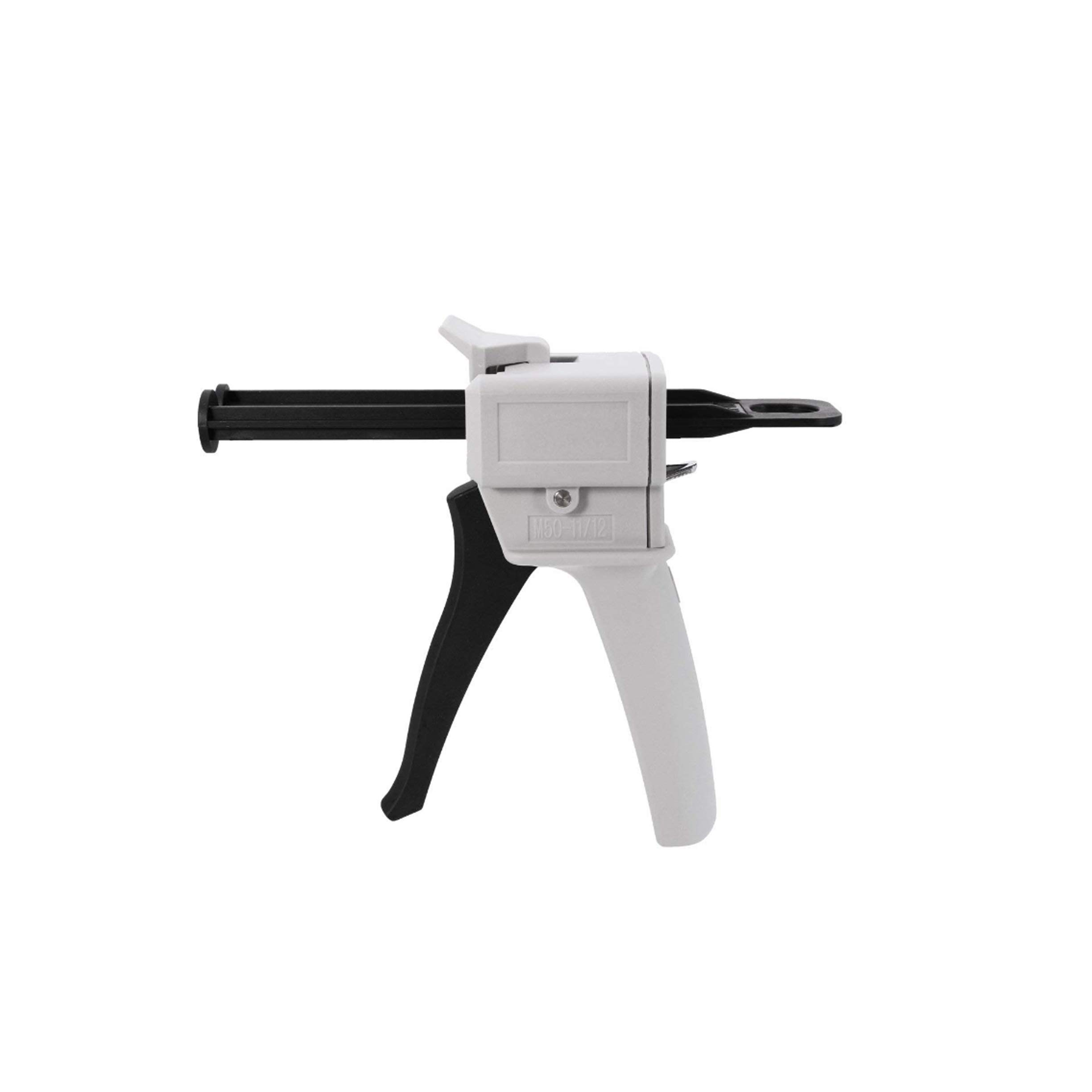 Hand-Operated Glue Gun for Mixed 1:1 or 1:2 AB Epoxy Glue for DIY Arts Crafts Projects and Small Repair Jobs 50ml