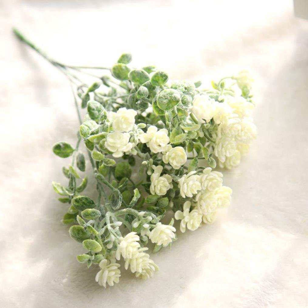 Amazon Leewos Clearance Fake Flower Bouquet Artificial Milan