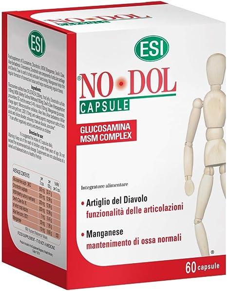 Esi no dol - integratore alimentare per dolori articolari e muscolari, 60 capsule B00D3I0E2A