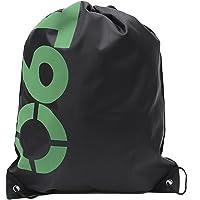 Happygodi Drawstring Bag Waterproof Lightweight Convenient Black One Size