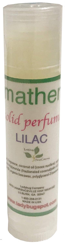 Natural Solid Perfume 0.18 oz Twist Tube Lilac