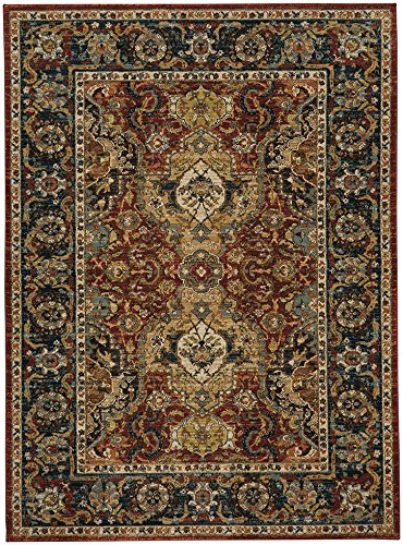 Karastan Spice Market 90938-30048 Dhahar Garnet Area Rug (5'3'' x 7'10'') by Karastan