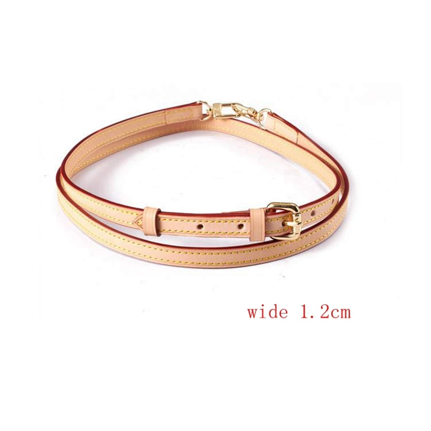 Angelat Strap Leather Handbag Straps Shouder Bag Belts Really Oxidation Cow Leather Accessory Bags Parts,1.5Cm Wide,Onesize