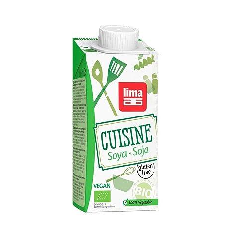 Nata Vegetal de Soja bio para cocinar Lima, 200 ml