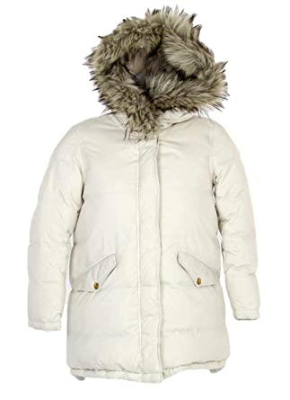 8815910e5123f Image Unavailable. Image not available for. Color  J.Crew Crewcuts Girls   Puffer Parka Down Jacket ...