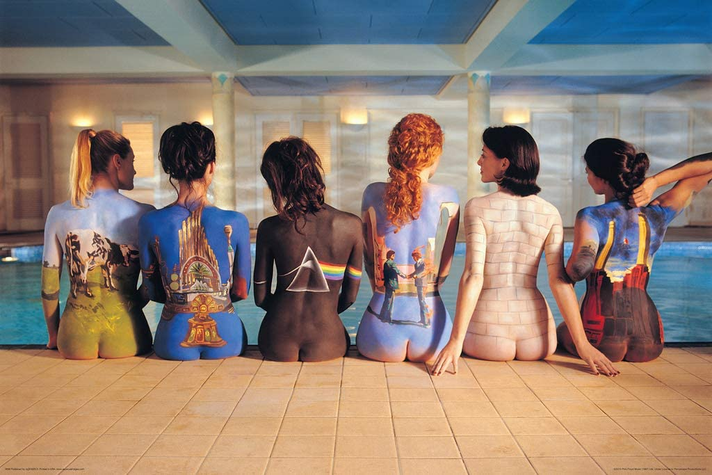 PINK FLOYD  ALBUM PICTURE GIRLS BACKS POSTER Size 36x24